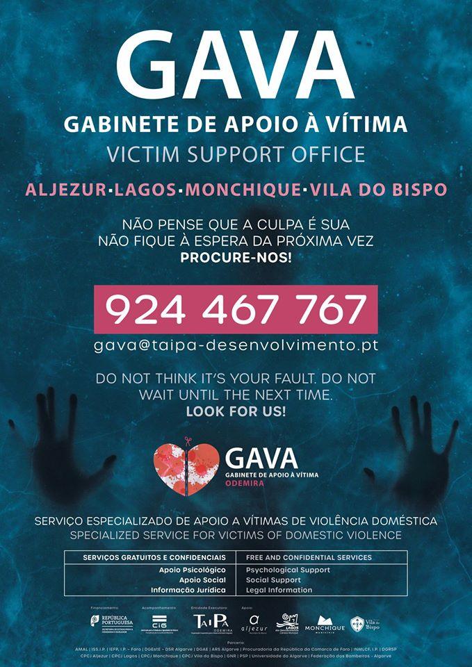 GAVA – Gabinete de Apoio à Vítima de Aljezur